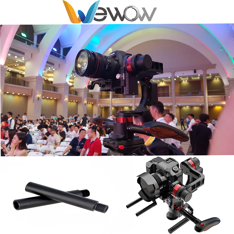 Wewow Newest Technology handheld 3-axis gimbal stabilizer for DSLR cameraWewow Newest Technology handheld 3-axis gimbal stabiliz