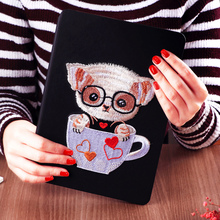 Anti-shock smart magnetic luxury beautiful pattern dirtyproof flap cover custom designcase flip case cover for ipad mini123