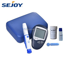 CE factory OEM automatic medical device high quality cheap blood glucometer and strip digital blood sugar tester