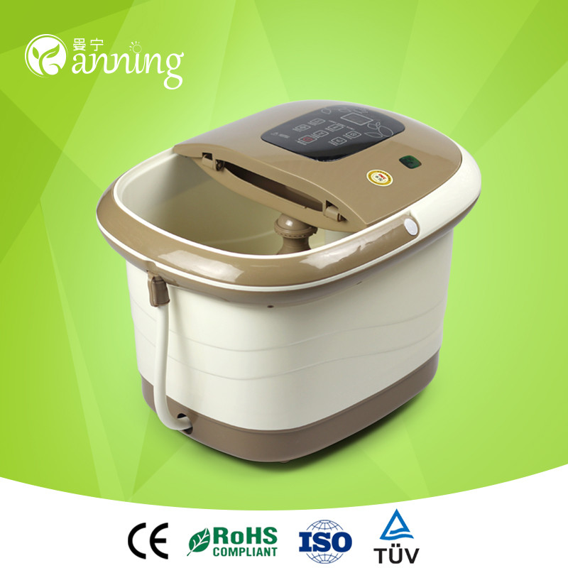 Smart intelligent warm foot massage machine,bath and vibration massager,shower massage bath tube