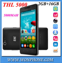 "New arrival original THL 5000 SmartPhone MTK6592 Octa Core Android 5.0""1080P IPS Coning Gorilla Glass 16GB ROM"