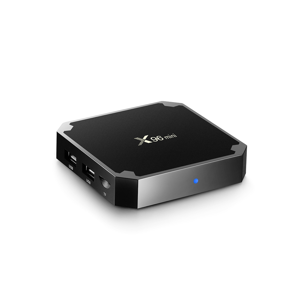 Cheap X96 MINI hd quad core tv box android 7.1 with lifetime arabic account no subscriptioin NO buffering Just works!!