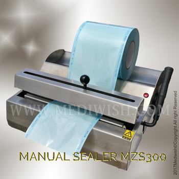 Reliable Dental Sterilization pouch Sealing Machine MZS 300 from sealer supplier