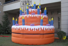 Inflatable Birthday Cake Model for Birthday Party Decoration