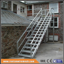 residential iron outdoor hot galvanised steel stairs