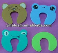 New Fun Animal Shapes EVA Cute, Baby Safety Soft Rubber Sliding Door Stopper,Finger Guard For Doors