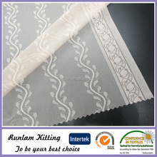 jacquard organza knitted lace fabric band for bra and panties