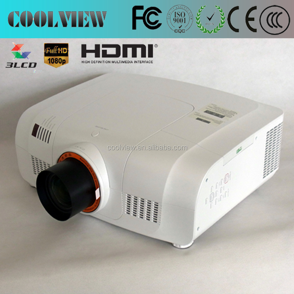 full HD 1920*1200 pixels high brightness 10000 lumens used cinema projectors