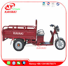 KAVAKI motor Factory sale 900W 60V 20A power adult electric tricycle bajaj auto rickshaw price