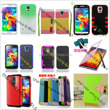 For galaxy s5 case,Plastic hard cover for samsung galaxy s5 hybrid case