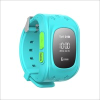 400mah gps alzheimer's watch Q50 tracker SOS family calls function