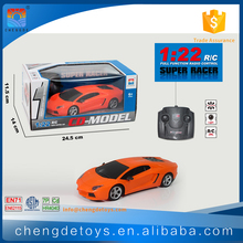 4CH 1:22 Remote Control Oil Car For Kids Flip Remote Control Car Toys With Light
