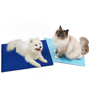 Trade assurance Pet cat dog soft ice pad dog cooling mat