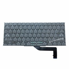 "Hot Sale 100% NEW UK US keyboard for MacBook pro retina 15"" NO backlight A1398 UK US keyboard"