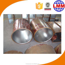 Excellent quality CCM water cooling jacket/copper tube for ccm