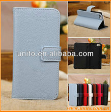 unbreakable mobile phone case for iphone 5c,litchi grain leather case