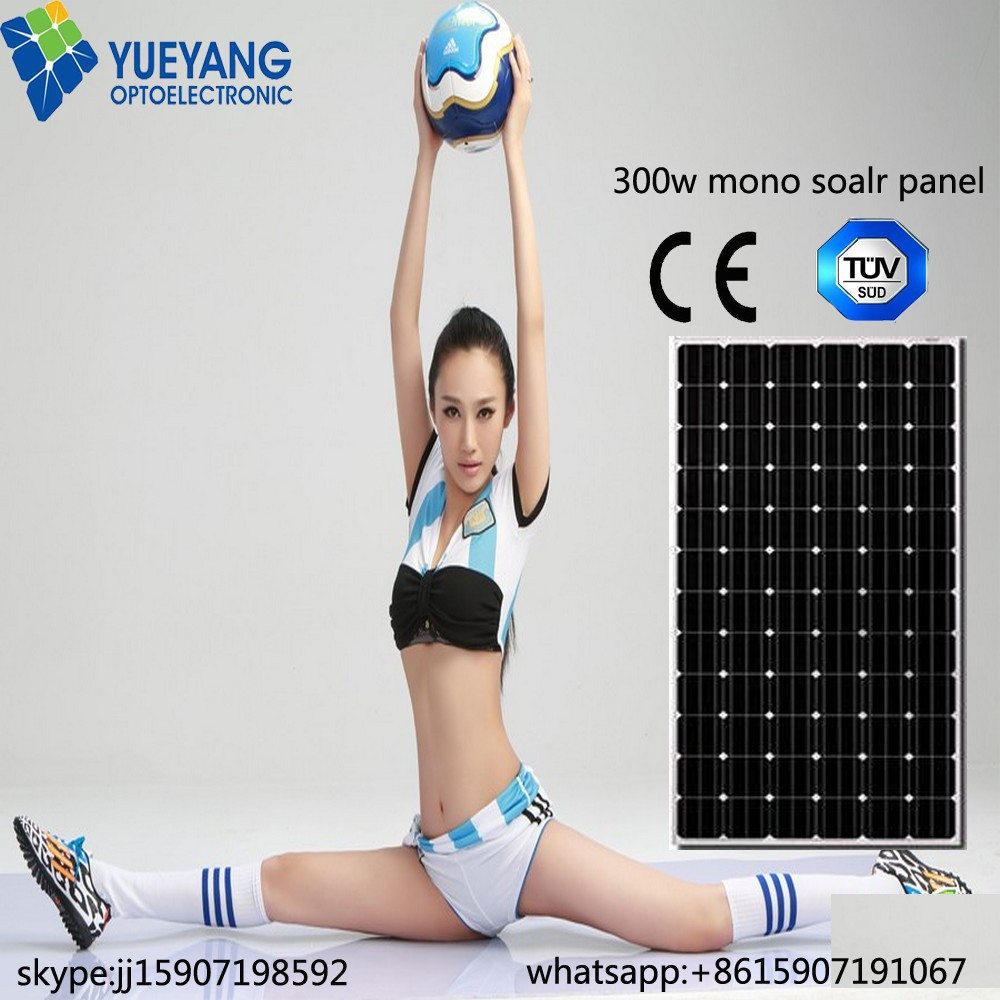 300W Monocrystalline solar panel low price special OEM to India Pakistan Afghanistan Syria Iran broken solar cells