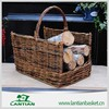 Natural materials environmentally friendly wicker outdoor fire basket