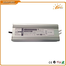 constant voltage 12v waterproof led driver 80w with TUV CB ,GS MARK saa ctick