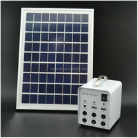 5W led mini solar light kits for shed