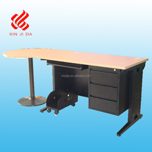 Modern office furniture metal desk with drawers