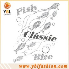 fashion classic fishing iron on patches for jeans,free samples