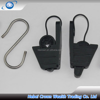 GKN-H Nylon Fiber Optic Drop Wire Clamp For Telecom Parts