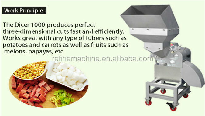 hot sell vegetable fruit dicing machine /onion dicer/potato cutting machine