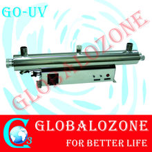 Aquaculture/UV lamp sterilizer for swimming pool