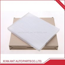 Hot selling air conditioner active carbon filter box Hyundai
