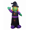 Market activity advertising display stand witch voodoo giant halloween inflatables