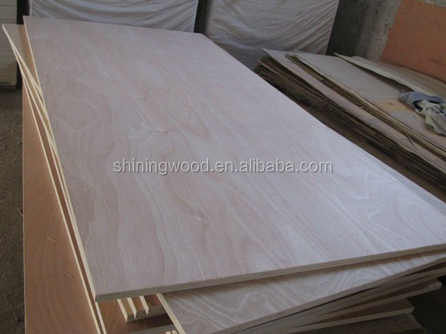 2.5mm okoume faced, poplar core plywood, commercial plywood