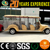 CE certificated sightseeing car bus with rain curtains