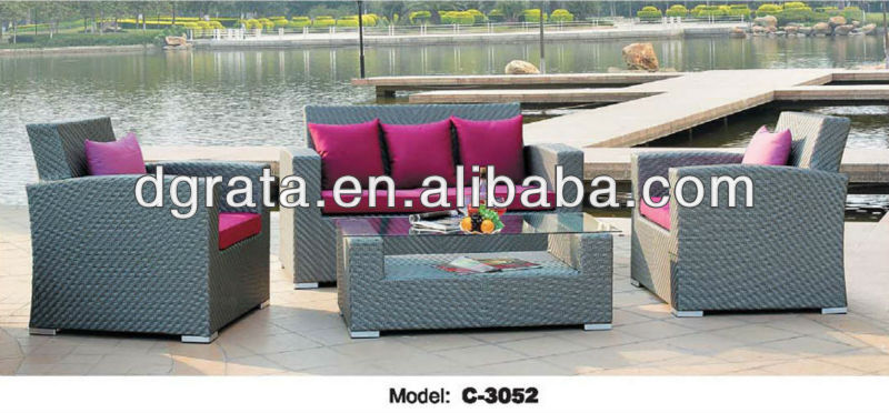 2013 garden furniture outdoor furniture,outdoor furniture shanghai,used outdoor furniture was made of metal frame and rattan