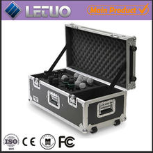 Black Aluminum Fire-proof Water-proof Microphone flight case
