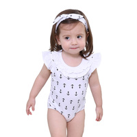 China Baby Garment Summer Sleeveless Bodies Baby plain Roupas Infantil 2 Pieces body cotton wear Set