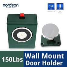 Wind Stopper Wall Mount Magnet Stop Double Fire Door Holder