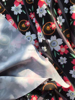 Digital printing polyester spandex fabric for swimwear