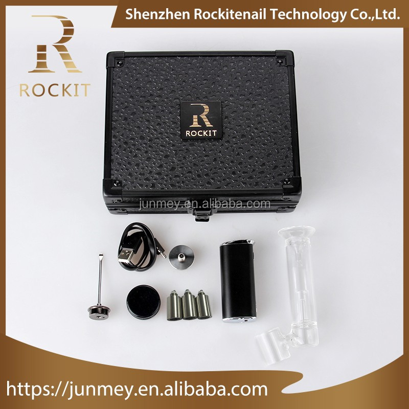 Alibaba China Supplier Classical product dry herb vaporizer e rig quartz/ceramic/titanium enail within 15 seconds