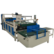 high speed corrugated carton box glue machine