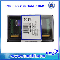 Good quality original chipset laptop prices in japan ddr2 ram 2gb