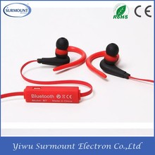 Factory Directly Sell Bluetooth 4.1 Support Dual Device Wireless Bluetooth Sport Earbuds