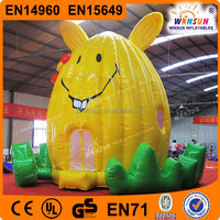 Lovely rabbit bounce,jumping inflatable caslte pad