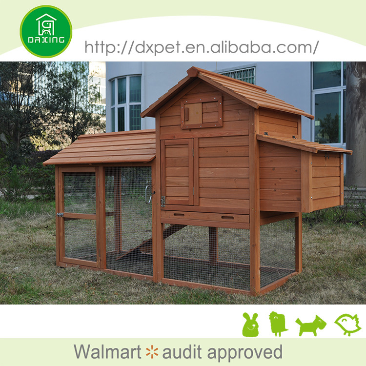 Best quality waterproof easy clean cheap wooden chicken coop