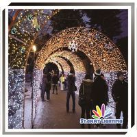 Waterproof christmas outdoor led arch motif lights led Meteor