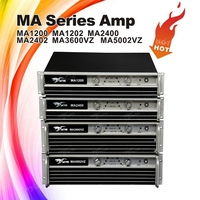 MA2400 Professional Power Amplifier sound standard