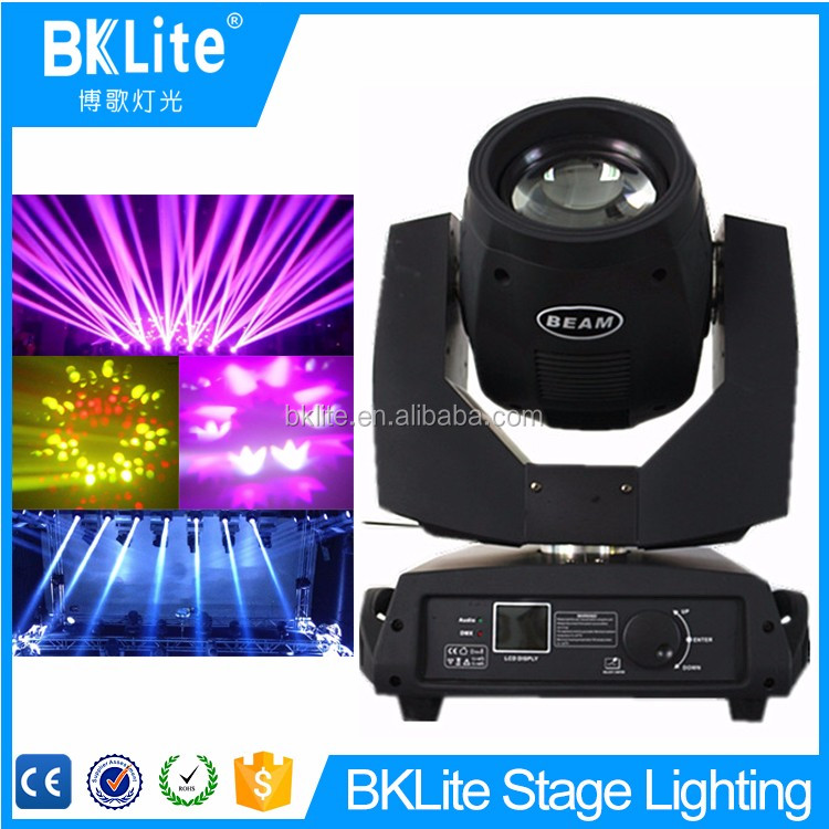 2017 Hot Promotion Stage beam 200 moving led head lumilites sharpy moving head light for sale