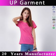 Promotional manufactory custom 100% organic cotton t shirt