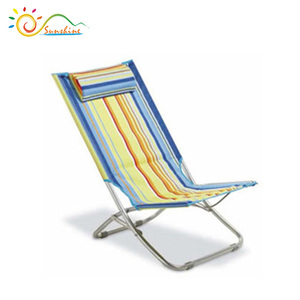Portable foldable garden furniture, outdoor garden chairs, folding sun chair