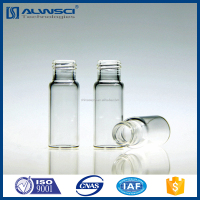 2ml screw neck vial 9-425 thread clear glass hplc vial for Agilent instruments